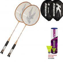 Badminton Racket & Plastic Shuttlecock – COMBO PACK 1